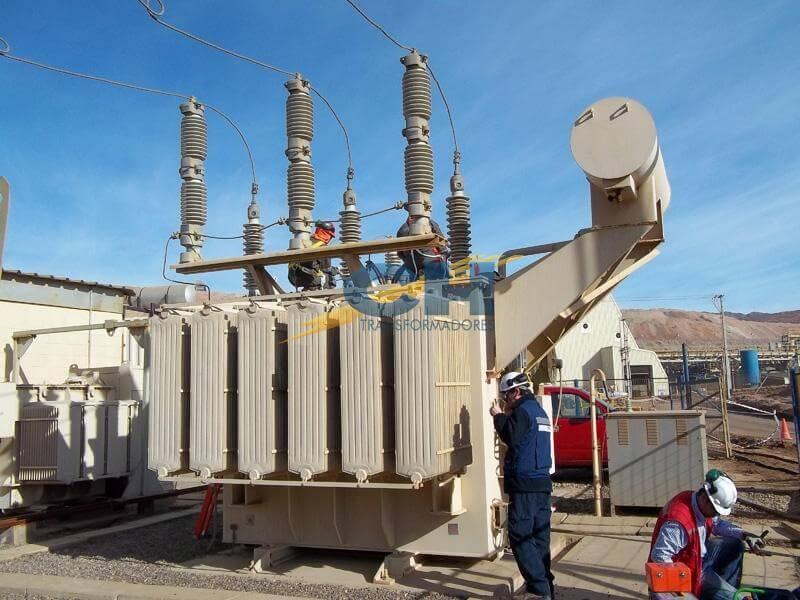 Transformadores - Subestaciones electricas