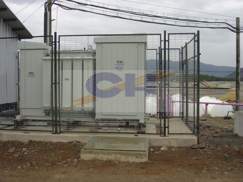 TRANSFORMADORES CH Subestacion Unitaria 2000 KV MVC