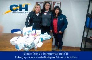 Transformadores CH - Prevención de riesgos